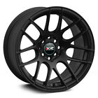 17X7 XXR 530 WHEELS 5X100 1143 +35MM FLAT BLACK RIM FITS MITSUBISHI ECLIPSE