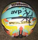 Kerri Walsh Jennings Signed Wilson AVP Special Edition Beach Volleyball w proof
