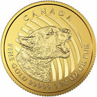 2016 Canadian 1 10oz Gold Growling Cougar 99999 in Assay