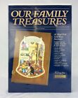 New In Box Wooden Keepsake Box Our Family Treasures With Name Plate 20