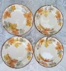 Franciscan October Set of 4 Salad Plates Autumn Leaves USA