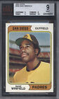 1974 Topps #456 Dave Winfield Rookie HOF Padres BGS BVG 9 Well Centered *617982