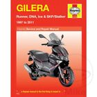 Gilera Runner SP 50 DD 2006 Haynes Service Repair Manual 4163