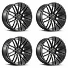 20 SAVINI BM13 GLOSS BLACK CONCAVE WHEELS RIMS FITS PONTIAC G8 GT