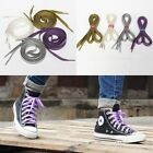 1 Pair Pearlized Glitter Shoelace Canvas Sneaker Flat Shoe Laces14 Colors New