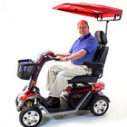 Challenger SUNSHADE CANOPY for most Pride Golden  Drive Mobility Scooter Red