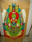 Gottlieb pro pool play pool pinball Playfield N.O.S