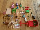Playmobil Xmas Lot! Three Wise Men 3365, Advent 3974, Angel 5875 and Sleigh 5977
