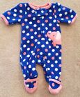 CARTERS PREEMIE FLEECE ELEPHANT FOOTED SLEEP N PLAY ADORABLE REBORN
