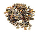200 Black Pen Shell Chips Seashell Loose Beads Drilled 13mm Crafts Jewelry
