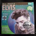 All About Elvis 1000 piece jigsaw puzzle New in Box Sealed