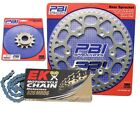 PBI MRD Blue 12-51 Chain/Sprocket Kit for Honda XR200R 1986-1991