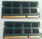 Macbook 13 A1342 2010 White RAM Memory DDR3 PC3 4 GB 2X2GBSticks= 4GB Used