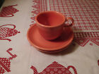 ROSE FIESTA CUP AND TWO SAUCERS - NICE CONDITION