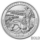 2016 Silver America The Beautiful ATB Theodore Roosevelt NP North Dakota 5 oz