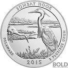 2015 Silver America The Beautiful Bombay Hook NP Delaware 5 oz