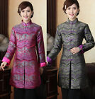 New Chinese Silk Women's Jcket/Coat Cheongsam TOPS Sz: M L XL XXL XXXL 2 Color