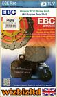 EBC Rear Organic Brake Pads Norton 961 Commando Dominator SS 15 FA266