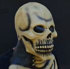 Creepy Scary Halloween Costume Mask Rubber Latex Skull Skeleton Mask FREE SHIP