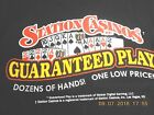 BOULDER STATION CASINO T SHIRT MENS EXTRA LARGE LOGO 7X11 INCHES ON BACK