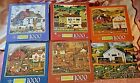 Charles Wysocki's Americana 1000 Piece Jigsaw Puzzles  NEW IN BOX LOT OF 6