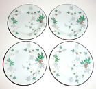 Noritake GREENWOOD #5769 Bread & Butter Plates, set of 4, c. 1956-1962