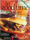 Weight Watchers 123 Slow Cooker In Good Time Cookbook