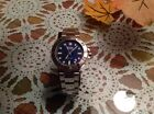 Wenger Men's Swiss Military #79178 SeaForce Blue Dial Stainless Steel Dive Watch
