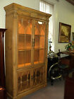 Pine China Display Hutch Cabinet by Pennsylvania House