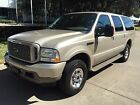 Ford Excursion 4dr 60L Pow No Reserve  Diesel 4WD  108000 Miles  Limited  Excellent Condition  Clean