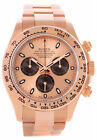 Rolex Cosmograph Daytona Pink Dial Oyster Perpetual Men Watch 116505 New in Box