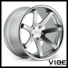 20 FERRADA FR1 SILVER CONCAVE WHEELS RIMS FITS TESLA MODEL S