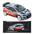 Pino B&d HYUNDAI i20 WRC no.7 1:43 Display model car motor sports Miniature
