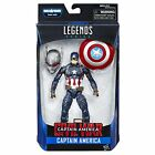 NEW 6-Inch Legends Series Captain America Movie-Inspired Design Figure By Marvel