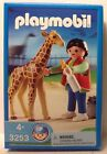 Playmobil 3253 Baby Giraffe With Zookeeper -  NEW
