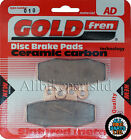 Gilera 350 Dakota Front Sintered Brake Pads All Years - Goldfren