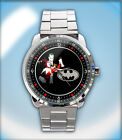 Buy Now Jokkers and Harlley Quinns Custom Stainless Steel Watch