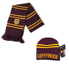 2pcs Harry Potter Gryffindor House Scarf+ Beanie/Hat Wrap Soft Warm Costume Gift