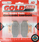 Yamaha DT 125 X Supermotard Rear Sintered Brake Pads (2006) - Goldfren
