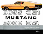 1971 Mustang Boss 351 Stripes -18 Piece Complete Stripe Kit Ford Licensed