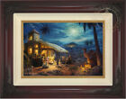 Thomas Kinkade Christmas The Nativity 12 x 18 LE S N Canvas Framed