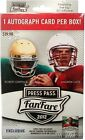 (5) 2012 Press Pass FANFARE Football Factory Sealed Retail Box+5 AUTOGRAPH RC'S