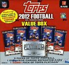 (5) 2012 Topps NFL MEGA Box+Platinum HOBBY+CHROME REFRACTOR Luck Griffin III RC