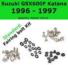 Fairing Bolt Kit body screws fasteners for Suzuki GSX 600F 1996 1997 Katana