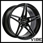 20 ACE AFF01 FLOW FORM BLACK CONCAVE WHEELS RIMS FITS ACURA TL