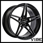 19 ACE AFF01 FLOW FORM BLACK CONCAVE WHEELS RIMS FITS AUDI A7 S7