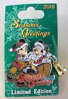 Disney Pin Seasons Greetings 2016 Mickey Mouse And Minnie Mouse Christmas Pin