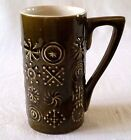 Portmeirion Totem Mug Cup Stoke England Susan Williams Ellis Green 1960s MCM