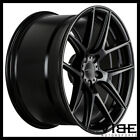 19 ACE AFF02 FLOW FORM BLACK CONCAVE WHEELS RIMS FITS LEXUS GS300 GS400 GS430