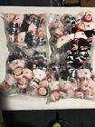 Lot Of 24 Factory Defect  ICE HOCKEY PLAYER Beanie Babies HAT TRICK HUNTER 2002